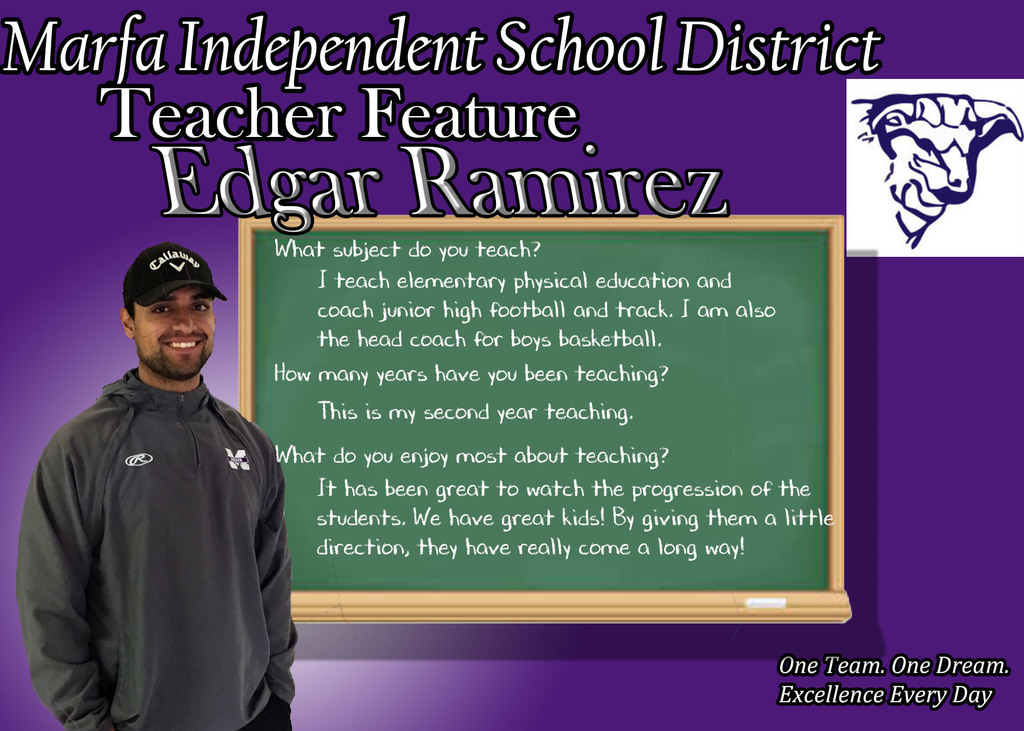 Edgar Ramirez - Teacher Feature