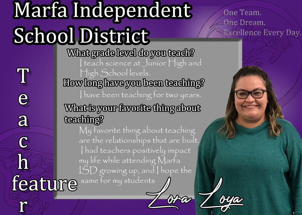 Lora Loya - Teacher Feature